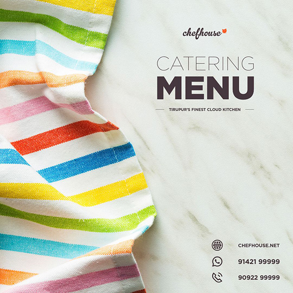 chefhouse catering tirupur